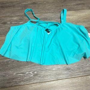 New Torrid Mint Bikini top